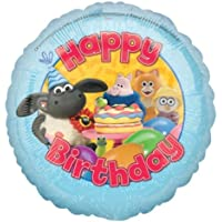 Amscan 18ic Timmy Time Happy Birthday