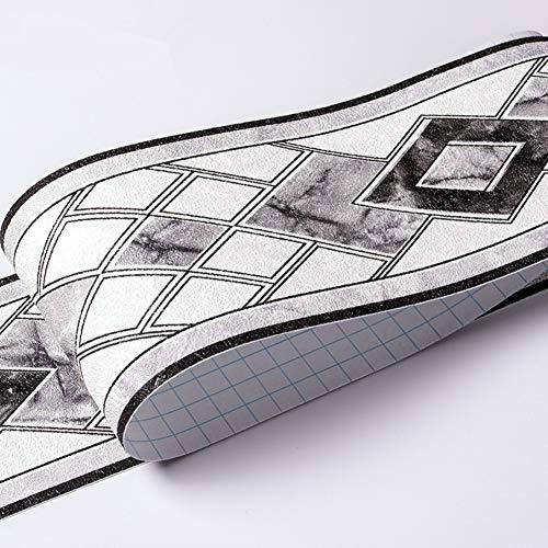 Papel pintado impermeable pared patrón 3D extraíble