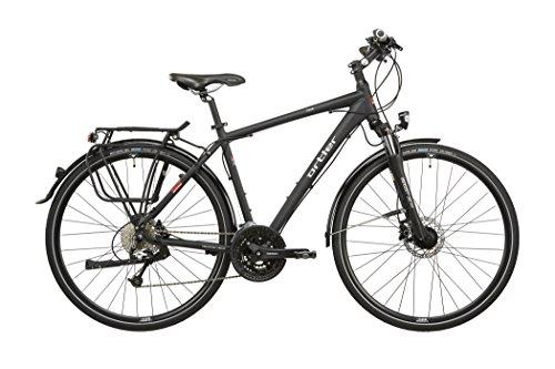 Ortler Chur Herren schwarz matt Rahmengröße 60 cm 2016 Trekkingrad