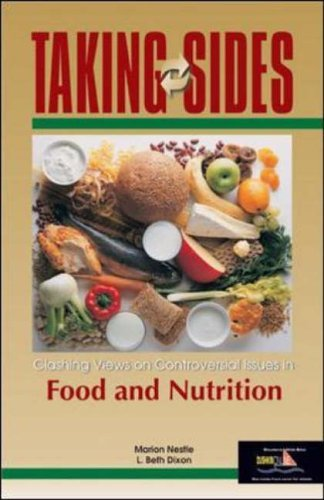 Taking Sides: Clashing Views on Controversial Issues in Food and Nutrition by Nestle (2003-12-01)