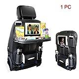 KIPTOP Rücksitz Auto Organisator für Baby-Spaziergänger & Kind-Spielraum-Zusätze, iPad /...