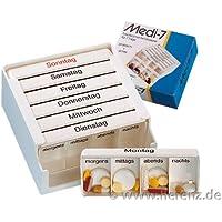 Medi 7 Medikamentendosierer f. 7 Tage Medikamentendispenser preisvergleich bei billige-tabletten.eu