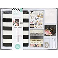 Heidi Swapp American Crafts Kit Memory Planner Black and White