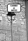 CARNET DE NOTES: Rue Historique Vieille ville Briques Pierres, journal personnel, prise de notes, original & pratique de 110 pages lignées