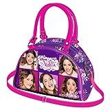 Handtasche Violetta Collage Bowling