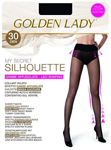0ae9d764f438 Goldenlady My Secret Silhouette 30 3P Collant, 30 DEN Nero 099A, X-Large