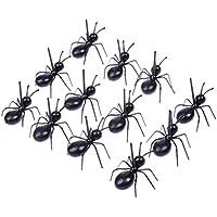 Providethebest 12pcs fruta Tenedor Ant Forma Snack-Prod Pastel Postre Vajilla palillo de la cocina