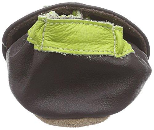 HOBEA-Germany Lauflernschuhe Tulpe, Chaussures Bébé quatre pattes (1-10 mois) mixte bébé Marron (braun)