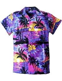 fb5b8c8bd SAITARK Mens Hawaiian Shirt Stag Beach Hawaii Aloha Party Summer Holiday  Fancy BP