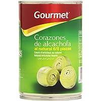 Gourmet Corazones de Alcachofa al Natural 6/8 Piezas - 240 g