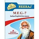 MEG7-Indian English Literature (IGNOU help book for MEG-7 in English Medium)