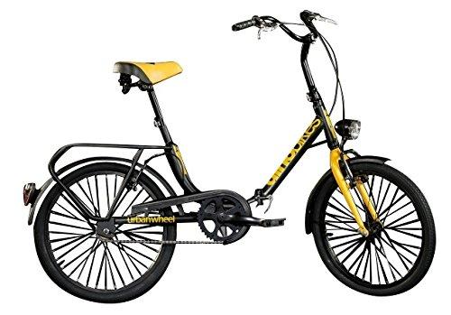 Klapprad Faltrad Dino Bikes Aurelia Folding 20 Zoll Weiß (20 Zoll Felgen Und Reifen-pakete)