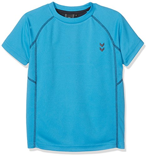 hummel Jungen Thim SS Tee T-Shirt, Blue Danube, 152 (Tee Sleeve Kollektion Long)