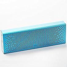 Original Xiaomi Altavoz estéreo Bluetooth 4.0 Manos libres altavoz portátil inalámbrico Speaker Wireless Apoyo de SD Tarjeta AUX Compatible con la mayoría de teléfonos Azul