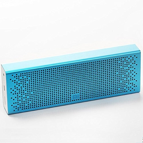 Xiaomi Mi Bluetooth Speaker, Wireless Portable Mini Bluetooth 4.0 Square Box Speakers MP3 Player Pocket Audio Support Handsfree TF Card AUX-in for iPhone, Smartphone, Tablet, TV, Notebook Blue