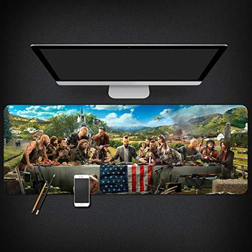 IGIRC Mauspad Far Cry 900X400mm Mauspad, Speed   Gaming Mousepad, Erweitertes XXL großes Mousemat mit 3mm starker Basis, für Notebooks, PC, A (Far Cry Notebook)