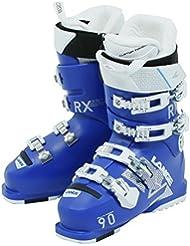 Lange RX 90 W - Botas de esquí de mujer, color Azul, talla 23.0