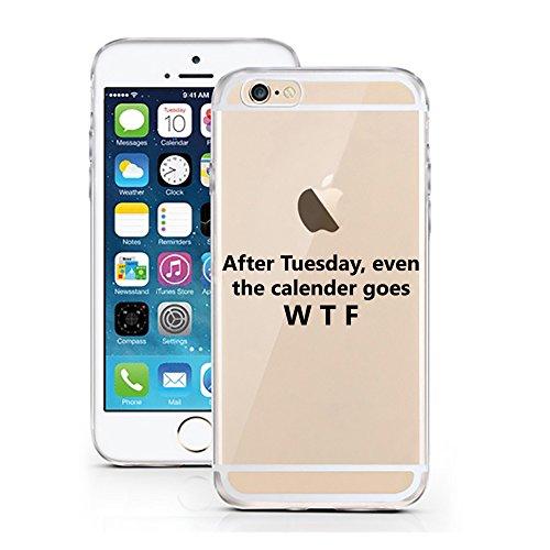 iPhone 7 Hülle von licaso® für das Apple iPhone 7 aus TPU Silikon More Issues than Vogue Fashion Style Muster ultra-dünn schützt Dein iPhone 7 & ist stylisch Case Design Schutzhülle Bumper Geschenk (i Calender goes WTF