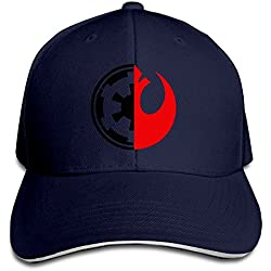 Bang Star Wars Rebel Alliance Logo Sandwich Gorra de béisbol Sombreros
