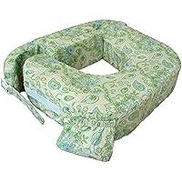 My Brest Friend / baby wild, Doppio cuscino verde Paisley Colore