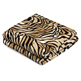Kuscheldecke 150x200 cm Wohndecke Farbe: Tiger