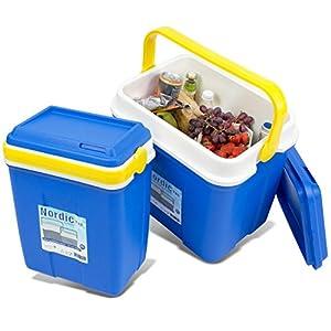 noorsk Kühlbox in verschiedenen Größen ideale Thermobox für Das Auto und zum Camping