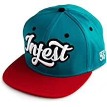 Infest Clothing Snapback Cap College tuerkis/rot (turquoise/red)