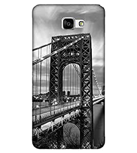 Bridge, Black, Amazing Pattern, Lovely Pattern, Printed Designer Back Case Cover for Samsung Galaxy A9 (2016) :: Samsung Galaxy A9 Pro (2016)