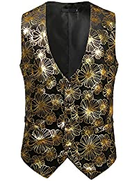 94529a39385 Amazon.co.uk: Gold - Vests / Tops, T-Shirts & Shirts: Clothing