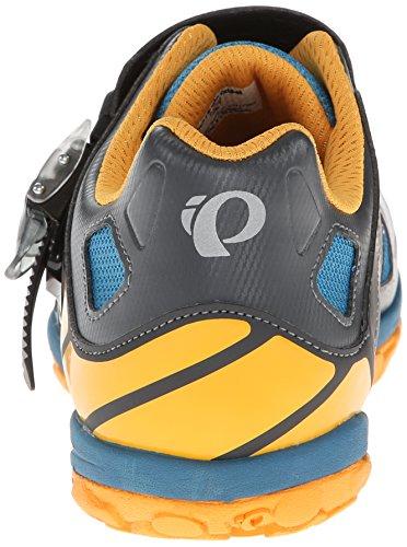 Pearl Izumi , Chaussures de cyclisme pour homme GRIS/NARANJA