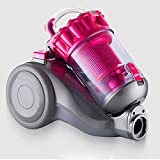 HFXDXR Aspirateur à cylindre sans poussière de 2600 W 2,5 L - forte aspiration, cordon d'alimentation de 4 m de long, filtration HEPA et technologie cyclone [Classe énergétique A] , 1