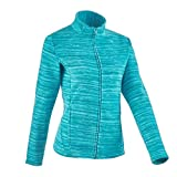 #5: Quechua Forclaz 200 Women's Mountain Hiking Fleece Jacket - Flame Green
