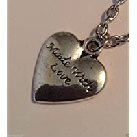 Beautiful necklaces pendants ladies/children's Love heart Girls night CN40