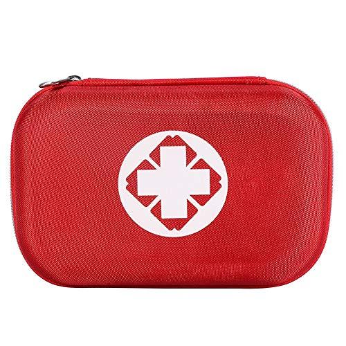 Erste-Hilfe-Kit, enthalten Instant-Cold-Pack, Gaze-Tupfer, Klebeverbände, Vliesrolle usw. für Zuhause, Auto, Camping, Büro, Boot und Reisen -