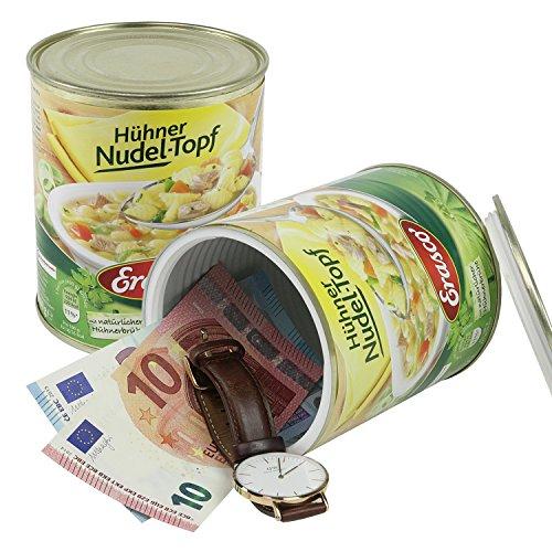 Geldversteck Dosensafe (Konservendose Bohnen) - 2