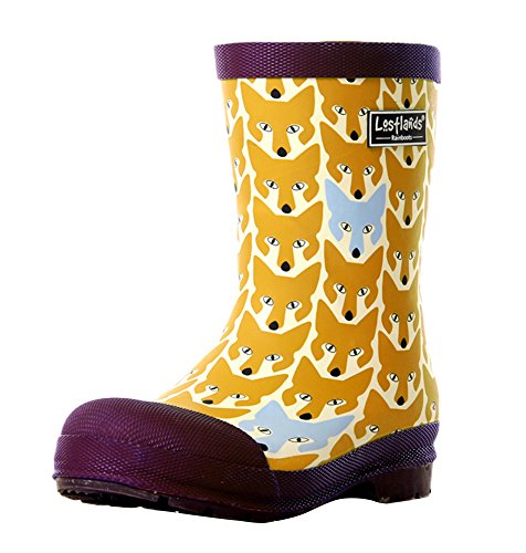 SK Studio Rain Boots for Boys Easy On Printed Rubber Boots