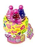 Markwins Pop Geschenk-Set, 1er Pack (Beauty Bag, Duschgel, Körperpeeling, Body Glitter)
