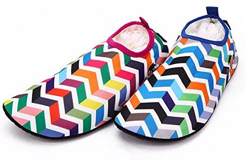 Gr Welle Mehrfarbig Damen Unisex Für Strandschuhe Bis Badeschuhe Panegy Surfschuhe Herren 35 Und 42 Aquaschuhe HSOZwAz