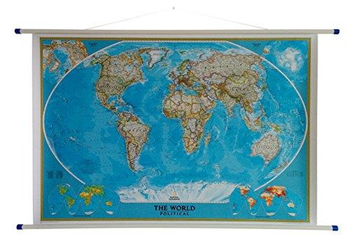 national-geographic-carte-du-monde-politique-style-classic-avec-cintre-blanc