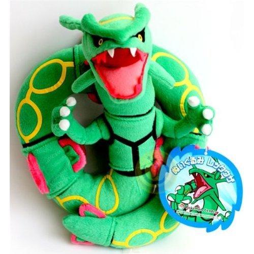 """Official Nintendo Pokemon Center Plush Toy - 12"""" Rayquaza (Japanese Import)"""
