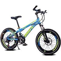 Fenfen Bicicleta para niños 7-10-14 años de edad Bicicleta de montaña de
