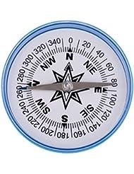 Gazechimp 1X Compás Grande Extra para Aula Brújula Magnética Viene en Caja de Plástico Accesorios Acampada Herramienta