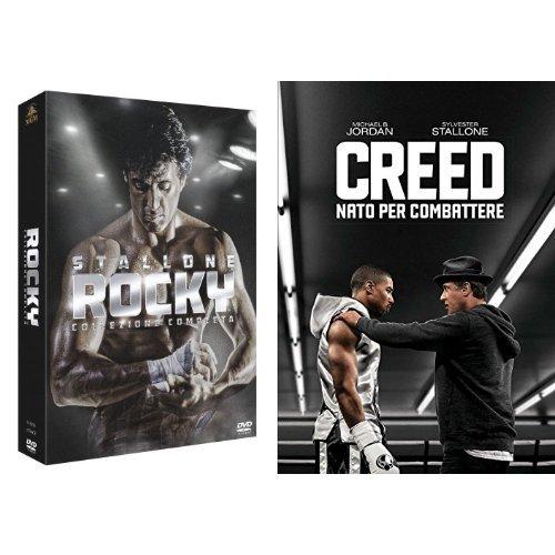 Rocky - La Collezione Completa + Creed - Nato per Combattere (DVD)
