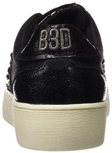 Bass3d 041326, Baskets Basses Pour Femmes Noires
