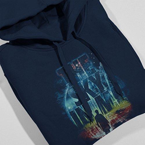 The Sky In Me Firefly Serenity Women's Hooded Sweatshirt Navy Blue