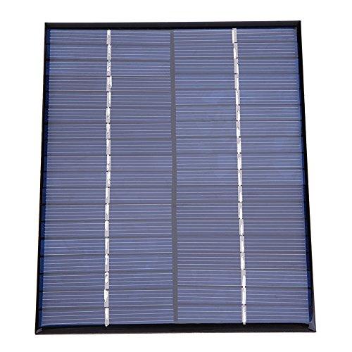 Taidda 2 watt 18 v silikon Batterie Lade solar Panel, Mini tragbare polykristalline silikon solar Panel DIY Power Module ladegerät 136 * 110mm - Solar Modul Panel