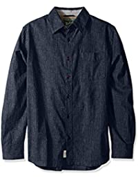 Woolrich Men's Mainroad Eco Rich Modern Fit Long Sleeve Shirt