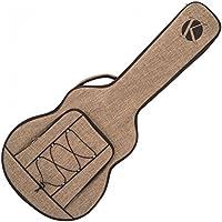 Kinsman KUSJ8 Jumbo Ultimate - Bolsa para guitarra, color marrón