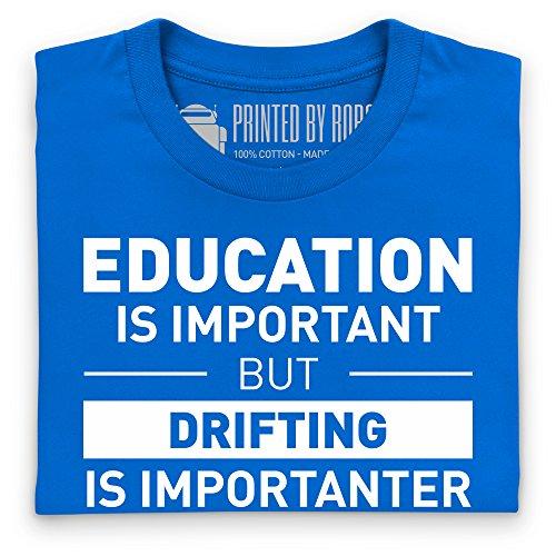 Drifting T-Shirt, Damen Royalblau
