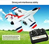 FX-823 2.4G 2CH RC Airplane Glider Remote Control Plane Outdoor Aircraft,Byste Lightweight Helicopter Toy
